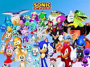 Sonic Characters Wallpaper - WallpaperSafari
