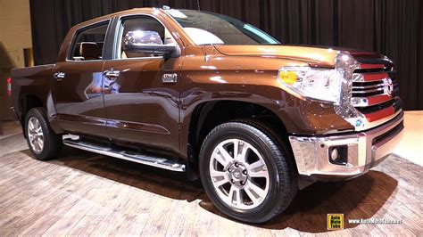 Toyota Tundra 1794 Edition 2017 by 2017 Toyota Tundra 1794 Edition Exterior And Interior