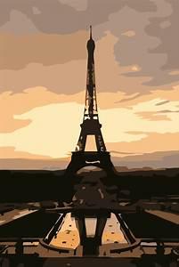 Pencil Art.tk - Pencil sketches - Vector graphics: Eiffel ...