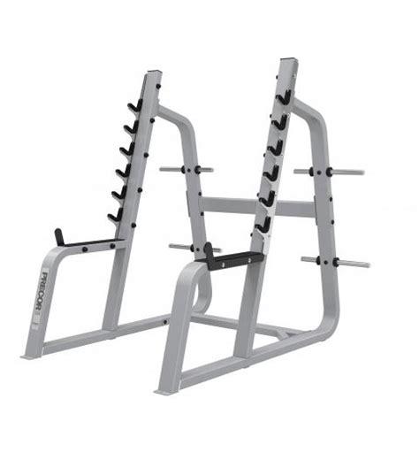 precor squat rack  power rack cage system athlete fitness equipment