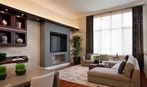 Teppich Unter Sofa : schicke wohnzimmer einrichten 15 moderne wohnideen ~ Markanthonyermac.com Haus und Dekorationen