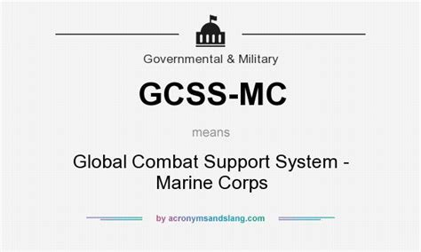 Gcss Mc Help Desk by What Does Gcss Mc Definition Of Gcss Mc Gcss Mc