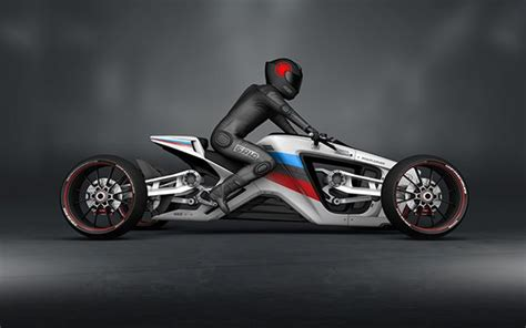 Roadcarver, A Four Wheeled Motorcycle With A Special