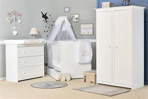 chambre complete pour bebe garcon chambre bébé grain d 39 orge blanche