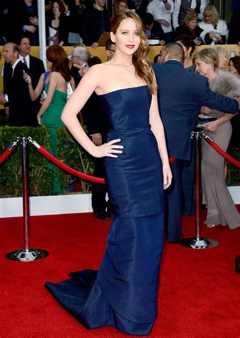 Jennifer Lawrence Red Carpet Fashion Style Fashionsizzle