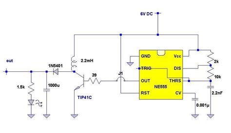 6v to 12v dc converter circuits