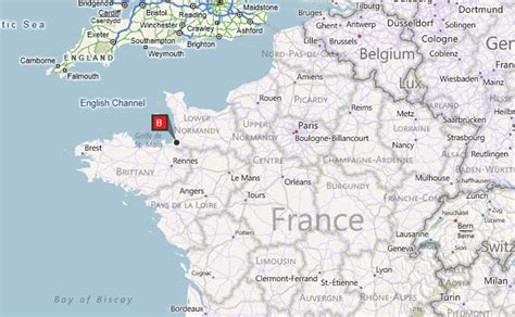Carte Mont Michel by Mont St Michel Map Driverlayer Search Engine