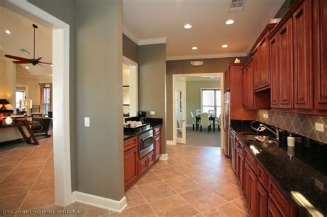 kitchen dark cherry kitchen cabinets wall color paint