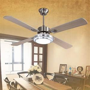 Frequency inch ceiling fan light with w lamp