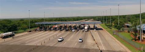 cars  passed  kranskop toll plaza