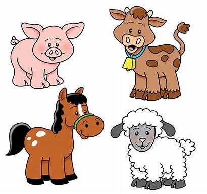 Clipart Farm Animals Down Clip Barn Graphic