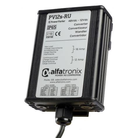converters diodes alfatronix pv12s ru 24vdc to 12vdc