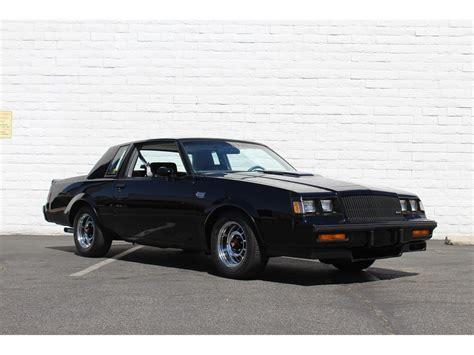 Buick Grand National by 1987 Buick Grand National For Sale Classiccars Cc