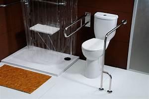 Toilette Mit Bd : barierrefrei kombi wc toilette f r behinderte ~ Lizthompson.info Haus und Dekorationen