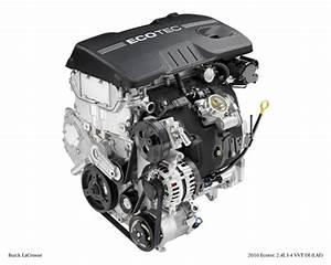 2010 Buick Lacrosse U2019s Ecotec 2 4l Engine Delivers An Epa