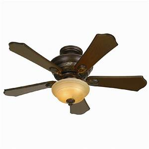 Hunter in multi position ceiling fan with light