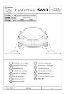 2009 Fluence Kicking Plates Fitting Instructions Pdf  1 07 Mb