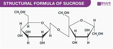 Sugar Formula Molecular Formula For Sugar Table Sugar