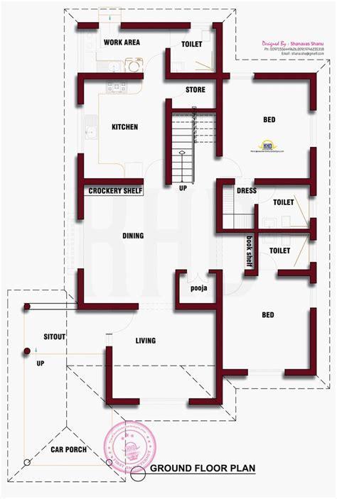 beautiful kerala house photo  floor plan indian house plans house floor plans