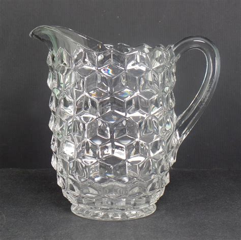 39 s parade pitcher fostoria american clear 39 ounce pitcher
