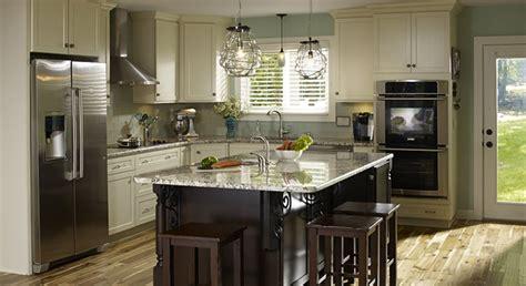 kitchen island renovation kitchen facelift success story masterbrand 1993