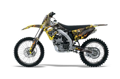 suzuki rmz 250 dirt bike graphics motorhead black mx graphic wrap kit 2010 2016 suzuki