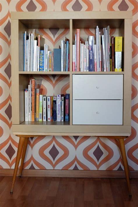 ikea bureau etagere un meuble étagère ées 70 avec kallax ikea hack and