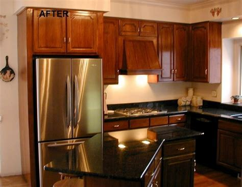 How To Restain Kitchen Cabinets