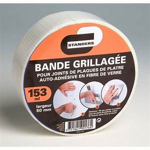 Bandes De Platre Bricolage : bande grillag e standers 153 ml leroy merlin ~ Dallasstarsshop.com Idées de Décoration