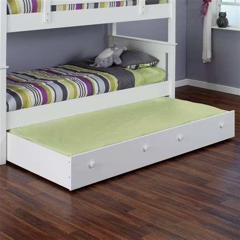 beds with trundle pop up trundle bed frame accent for playful bedroom 10809