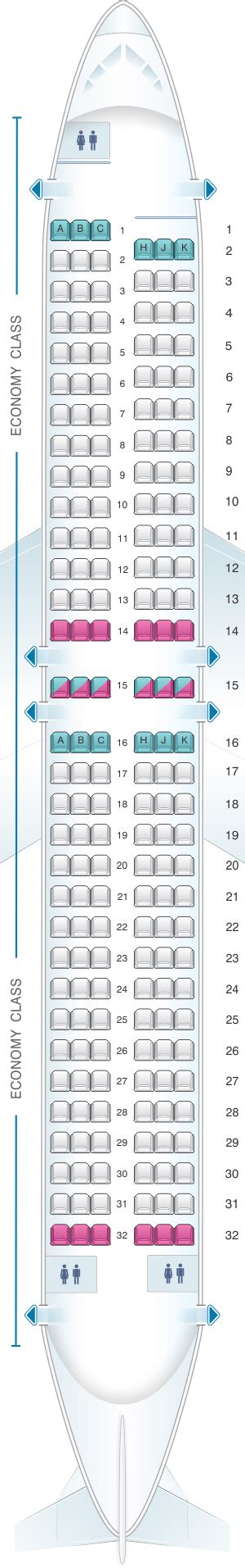 boeing 737 plan sieges seat map air transat boeing 737 800 us and south seatmaestro