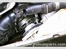 BMW E39 5Series Cooling Pump Removal 19972003 525i