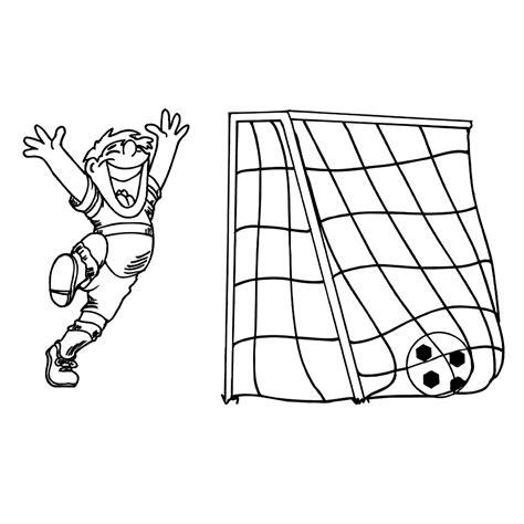 Goal Kleurplaat leuk voor goal