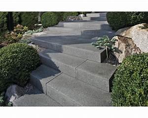Blockstufen Beton Setzen : flairstone granit blockstufe stahlgrau 50x35x15cm hornbach luxemburg ~ Orissabook.com Haus und Dekorationen