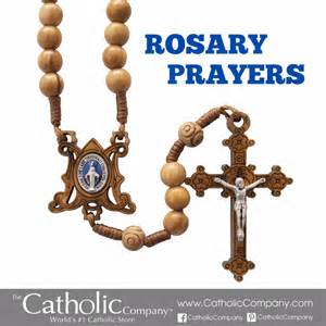 Catholic Rosary Prayer Mystery