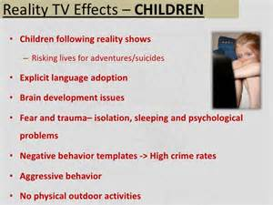 essay about the effect of television on children