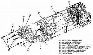 repair guides engine mechanical timing chain cover With 3400 engine coolant leak