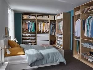 Faire Dressing Dans Une Chambre : comment concevoir un dressing castorama ~ Premium-room.com Idées de Décoration
