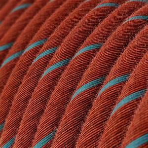 Round Electric Vertigo Cable Covered By Brick And Light