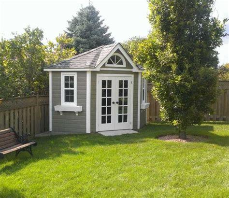 corner shed garden ideas   backyard storage