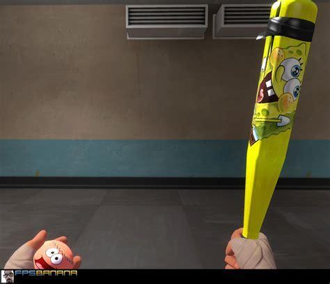 Spongebob Bat and Patrick Ball   Team Fortress 2 Skin Mods
