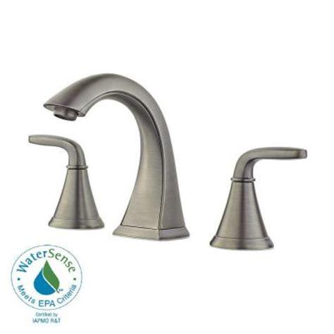 pfister pasadena 8 in widespread 2 handle bathroom faucet