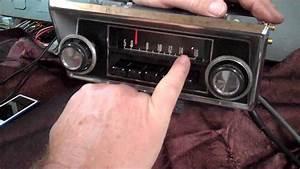 1968-72 Ford F100 Original Am Radio