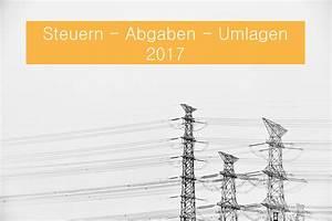 Steuern Abgaben Berechnen : steuern und abgaben beim strom und gaspreis 2017 ~ Themetempest.com Abrechnung