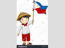 Phillipines clipart cute little boy Pencil and in color