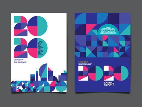 Annual Report 2020 Template - Download Free Vectors ...