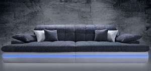 Günstige Sofa : big sofas g nstig gro e und g nstige sofas mit led 1 ~ Pilothousefishingboats.com Haus und Dekorationen