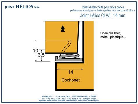 joint d 233 tanch 233 it 233 pour porte joint helios