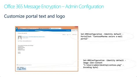 Office 365 Encryption by Encryption In Office 365 03 Office 365 Message