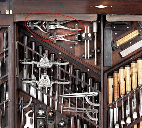 antique tool storage case